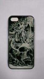 Чехол на Iphone 7 Dark Skull