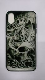Чехол на Iphone X Dark Skull
