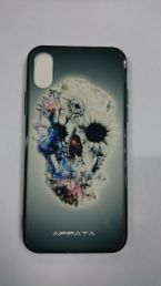 Чехол на Iphone X Skull&Сhamomile